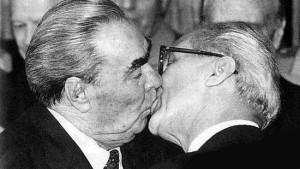 breznev a honecker