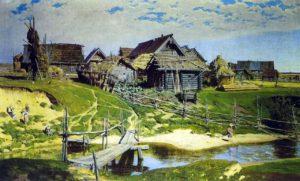 russia vilage